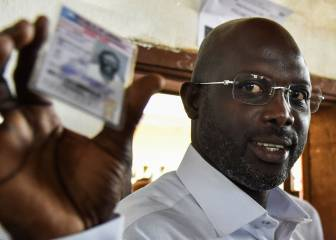 George Weah awaits Liberia presidential election result