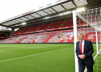 Liverpool unveil the Kenny Dalglish Stand