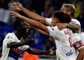 Fekir the star man as Lyon snatch victory at the death