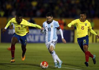 Ecuador players suspended for partying before Argentina clash