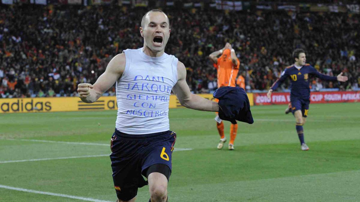 "Iniesta: ""World Cup will probably be my last international event"""