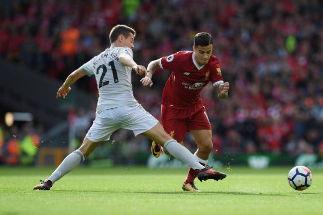 Ander Herrera and co. looked to keep Philippe Coutinho as quiet as possible throughout.