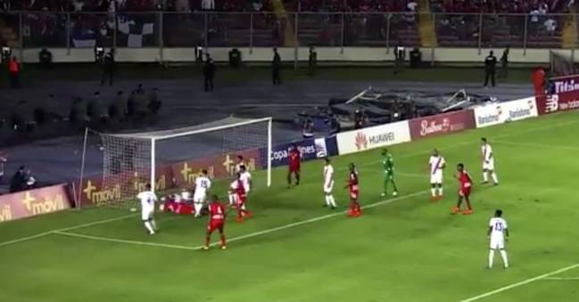 Ghost goal | That moment during Panama vs Costa Rica in World Cup qualifying.