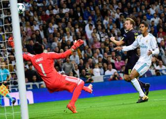 Tottenham Hotspur get their first goal against Real Madrid