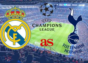 Real Madrid vs Tottenham: live