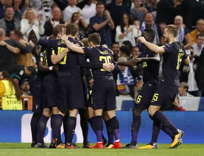 Tottenham Lloris 1 Premier League Football Shirt Name Set Sporting ID 2017//18