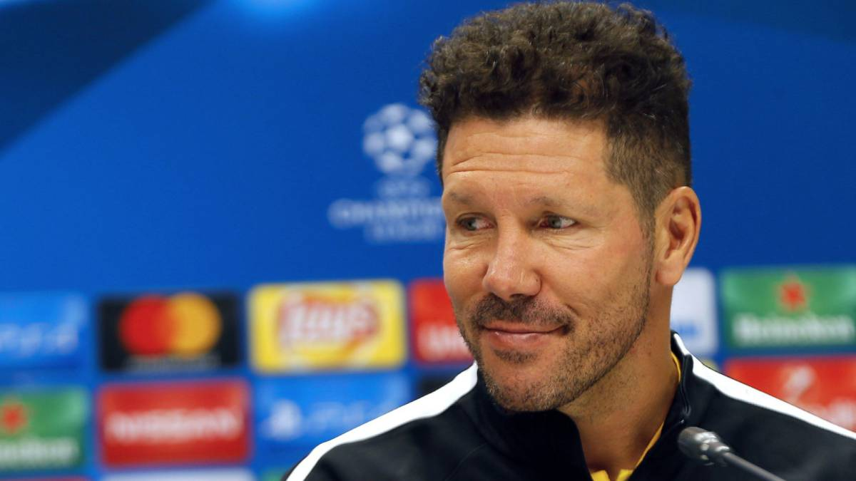 "Atlético's Simeone: ""We have to go for the win from kick-off"""