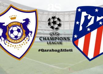 Qarabag vs Atlético Madrid: live