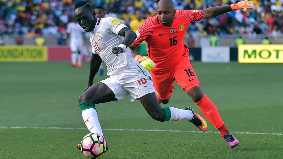 Injured Mané included in Senegal squad to face South Africa