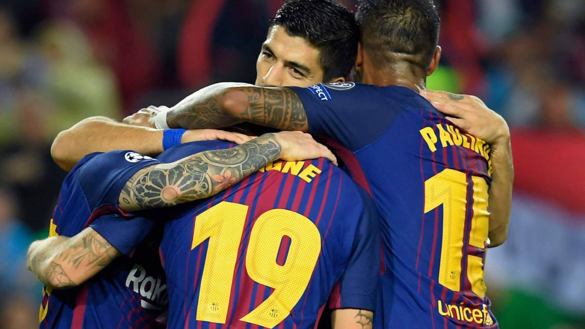 Barça benefit from fifth own goal of season in win over Olympiakos
