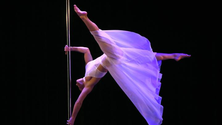 Pole dancing aiming for Olympics after gaining sport status