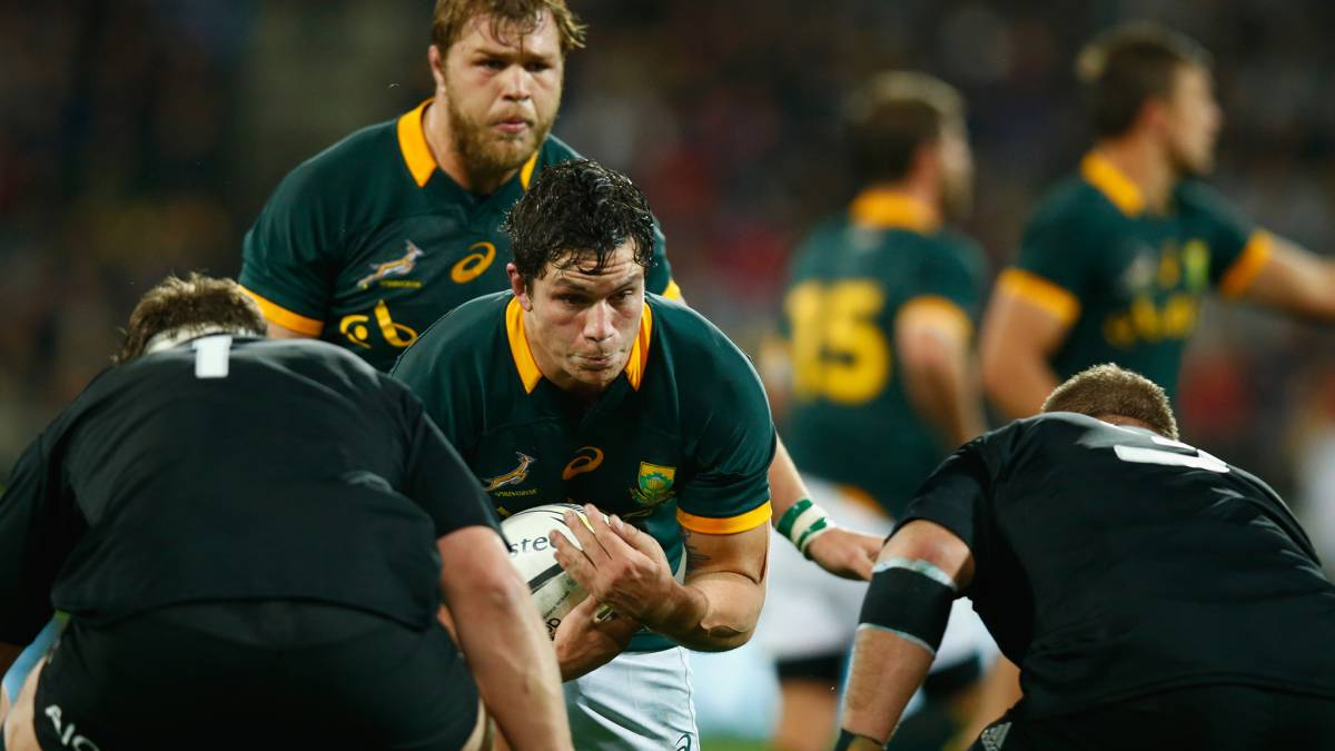 Springbok flanker Francois Louw suspended for three weeks