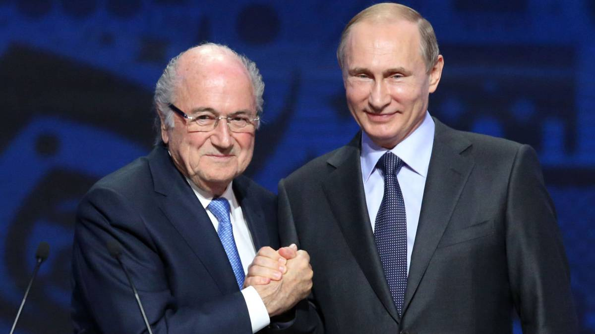 Blatter to attend World Cup as guest of Putin despite ban