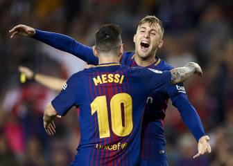 Deulofeu, Iniesta goals see Barca over the line against Malága