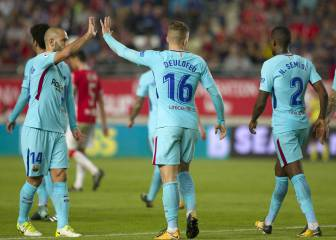 Rotated Barça prove too much for impressive Real Murcia