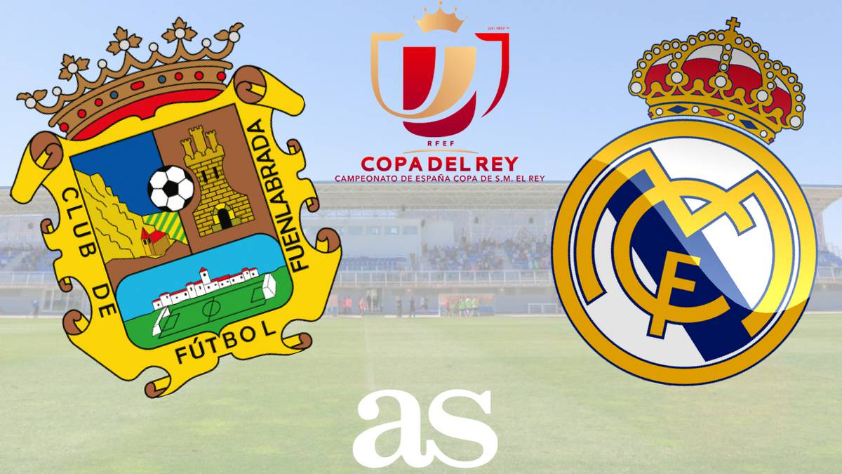 All the information you need on where and when to watch the Copa del Rey game between Fuenlabrada and Real Madrid from the Estadio Fernando Torres on Thursday at 21:30 CEST.