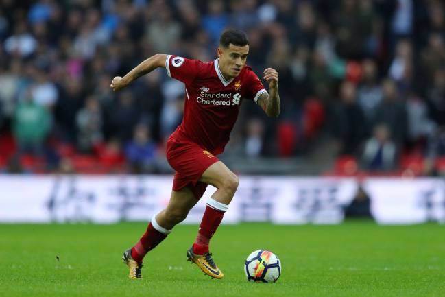 Saga continues | Philippe Coutinho of Liverpool against Tottenham Hotspur.