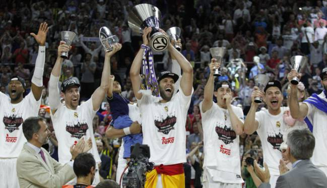 Laso steered Real Madrid to their 9th Euroleague title in 2015