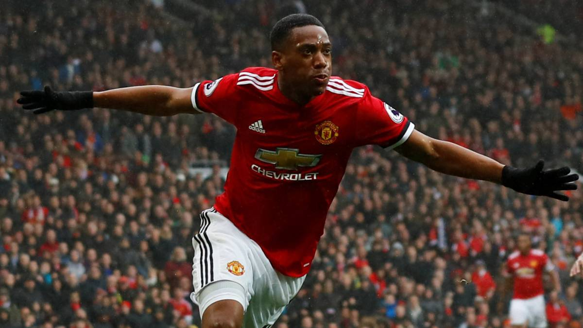 Manchester United 1-0 Tottenham Premier League match report: Martial wins it for Mourinho