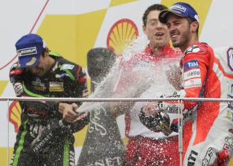 Dovizioso keeps title dream alive with win in Malaysia