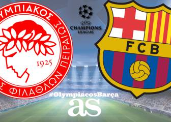 Olympiacos - Barcelona live online: Champions League