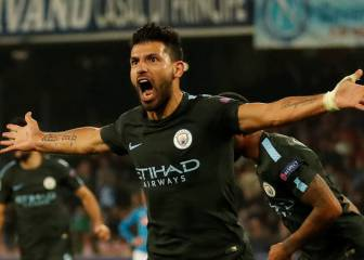 Agüero breaks scoring record as Man City seal last-16 place