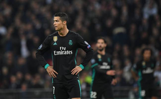 Cristiano | The Portuguese spoke to BeIn Sports after Champions League defeat to Tottenham, and admitted that Madrid miss Morata, Pepe, and James Rodríguez.