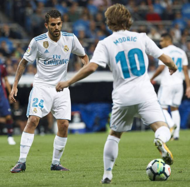 Development | Ceballos hoping for more pitch time with players like Modric at Real Madrid.