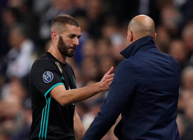 Zinedine Zidane's side are suffering from a lack of prowess in front of goal, with Benzema, Bale, and Sergio Ramos no longer contributing at a significant rate.