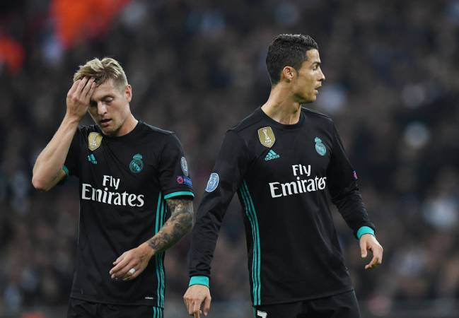 Morata, James, Pepe, and Danilo have left Madrid, and those who have replaced them do not exert the same pressure on Kroos, Modric, Benzema, et al.