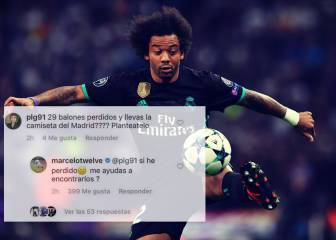 Marcelo responds to follower who criticised his 29 lost balls