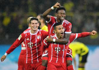 Bayern cruise to comfortable win over Dortmund