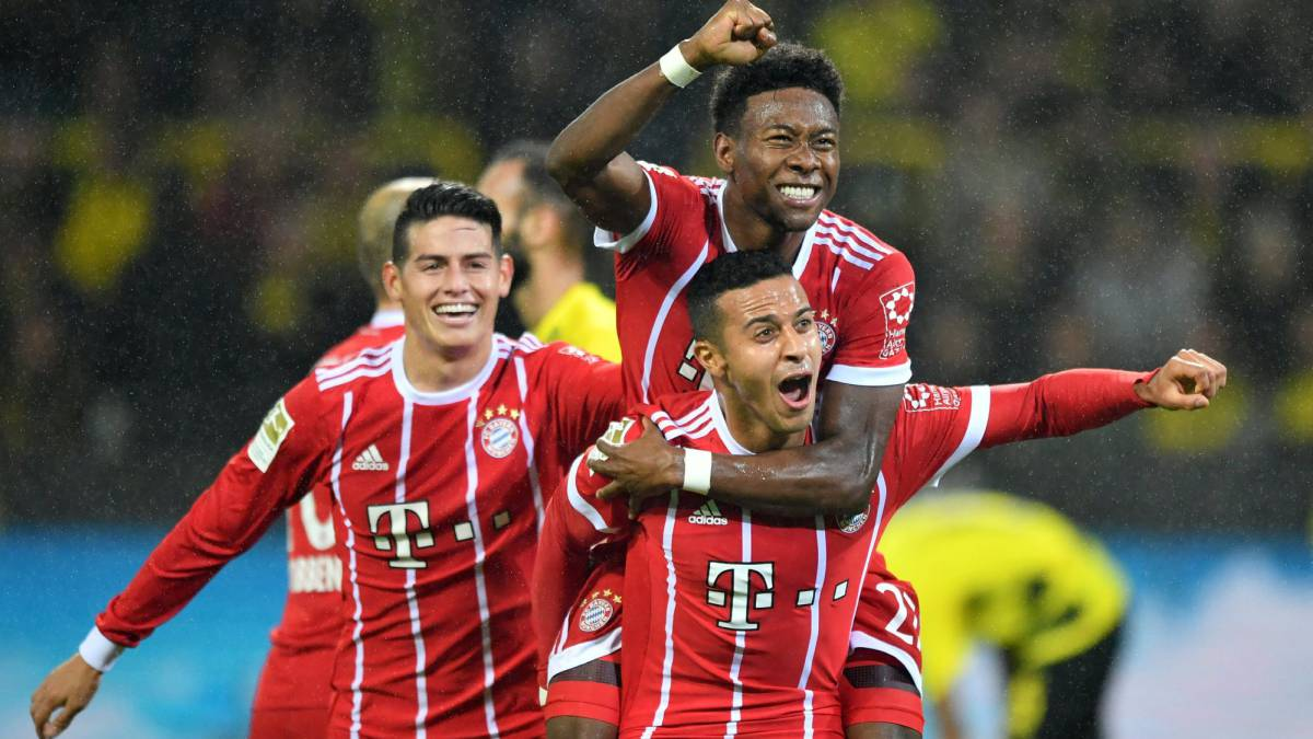 Borussia Dortmund vs Bayern Munich: goals, match report, as it happened