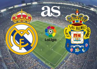 Real Madrid vs Las Palmas: live