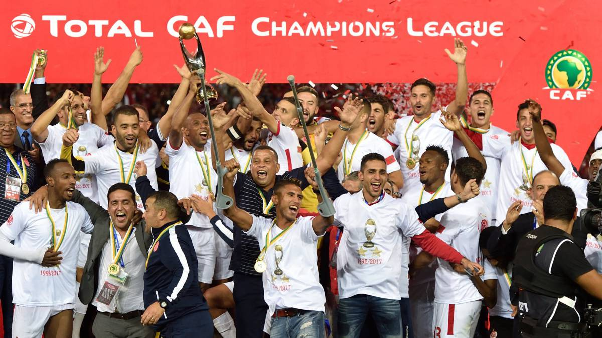 Wydad's Nekkach, Rabeh and Ounajem named in CAF Champions League ideal XI