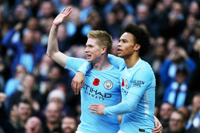 Hand's up if you're valuable | Kevin de Bruyne of Manchester City.