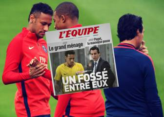 Chasm grows between Neymar and Emery at PSG