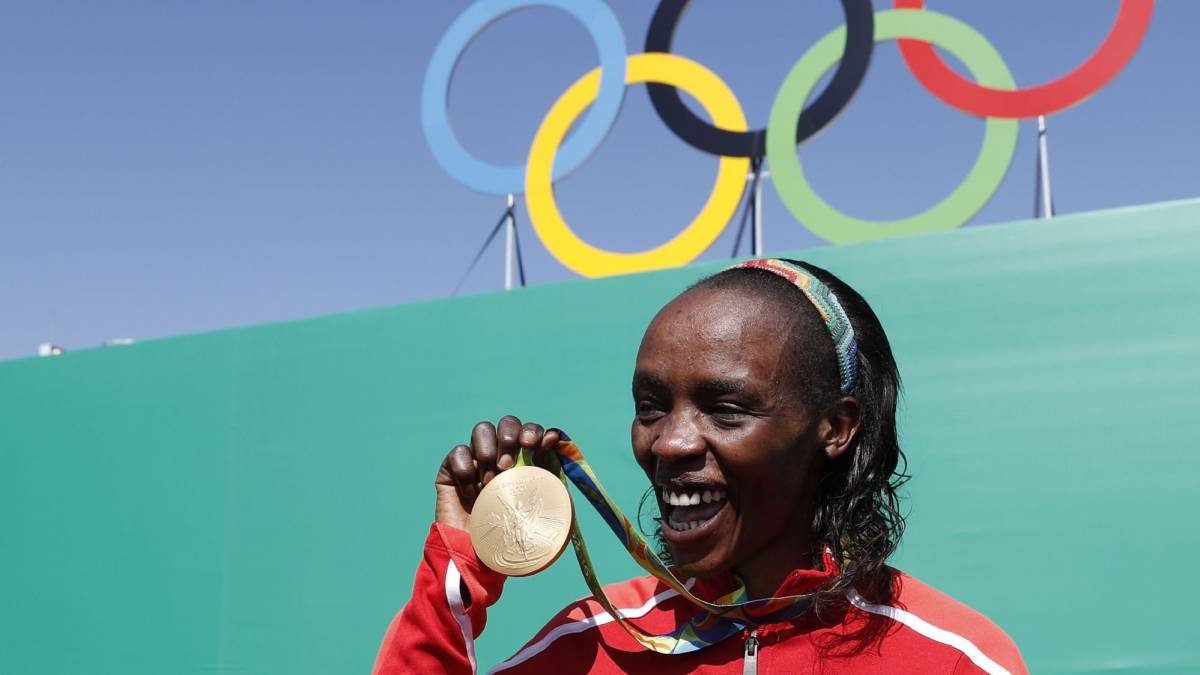Olympic champion Jemima Sumgong banned for four years