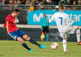 Spain Under 21s vs Iceland Under 21s live