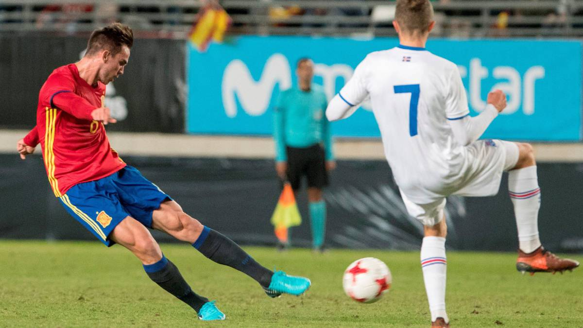 Spain U21 1-0 Iceland U21 2019 Euros qualifier: goals, as it happened, match report