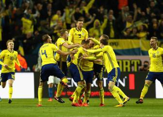 Sweden put Italy on the rack ahead of San Siro return