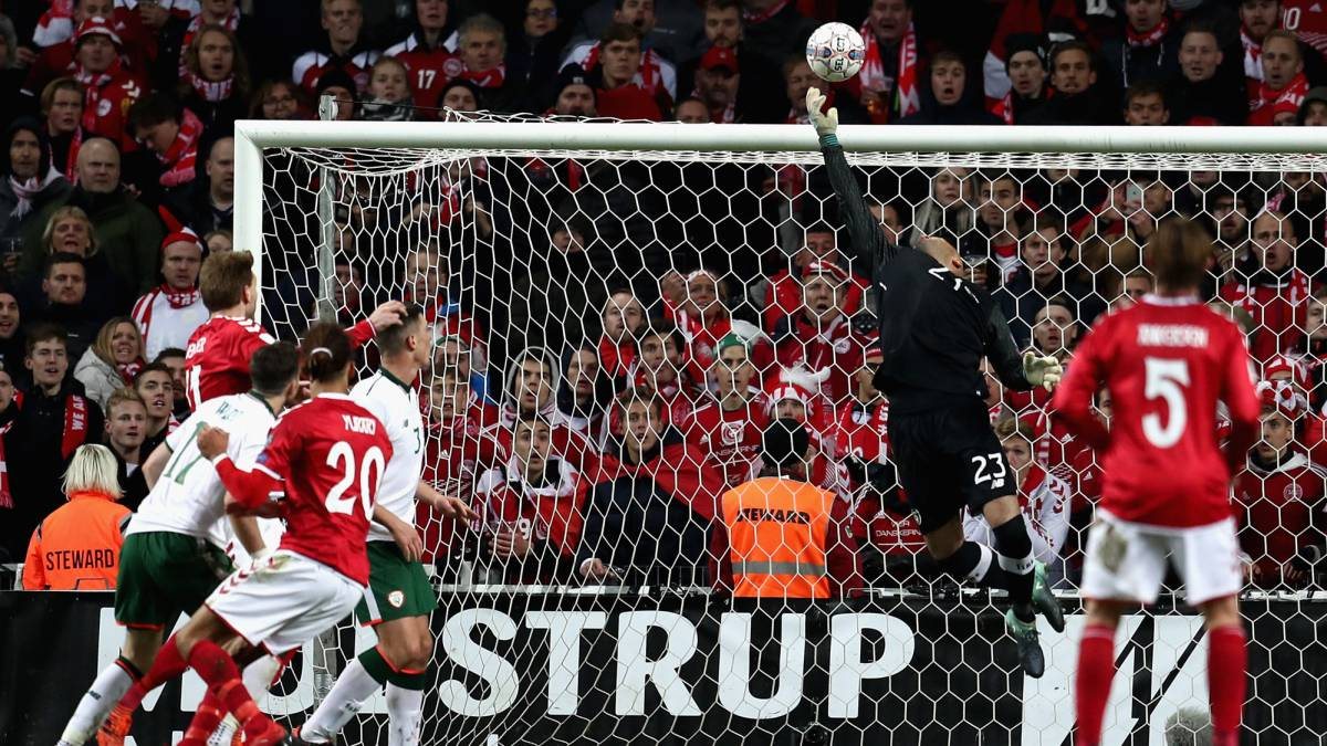 Denmark vs Ireland European qualifier Russia 2018: match report, goals, action