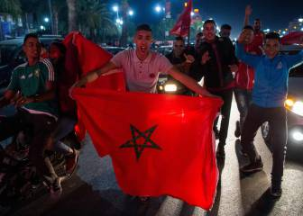 See you in Russia! Morocco celebrates - in pictures