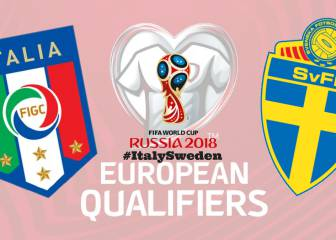 Italy v Sweden: live online, 2018 World Cup Play-Off