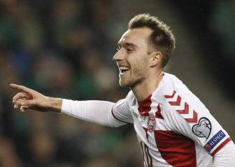 Denmark qualify for the World Cup thanks to Eriksen hat-trick