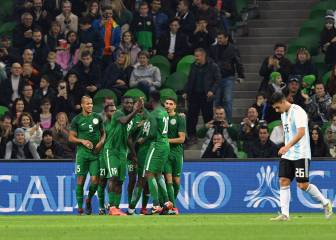 Argentina picked off by Nigeria despite taking two-goal lead