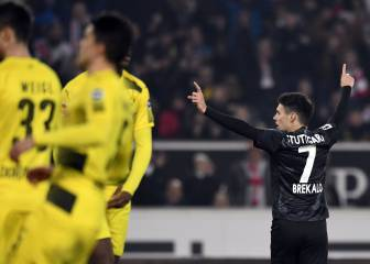 Bosz under the cosh as Dortmund lose at Stuttgart