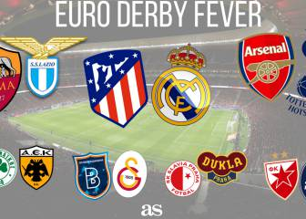 Derby fever hits Europe: Madrid, Rome, North London...