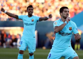 Suárez at the double as Barça extend LaLiga lead