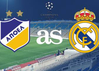 APOEL vs Real Madrid: live!